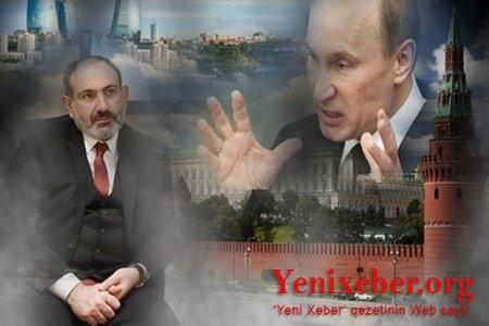 """Putin Ermənistana """"siyasi nüvə zərbəsi"""" endirdi:"""