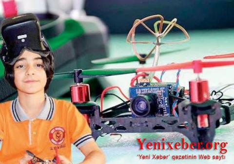 Türkiyəli 13 yaşlı uşaq inanılmaz PUA icad etdi...