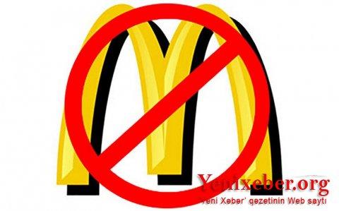 """""""McDonald's""""dan imtina ilə bağlı kampaniya başlayıb-"""