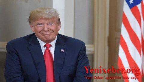 Tramp siyasətçi olmadığını bildirib