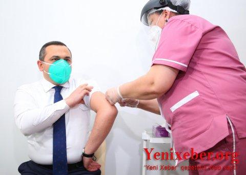 Qripə qarşı vaksinasiya prosesi başlayıb-