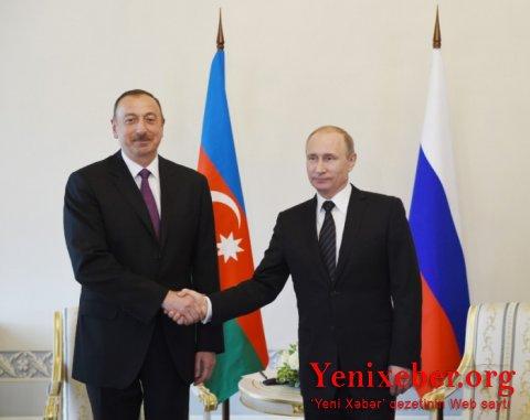 Putin İlham Əliyevə zəng edib