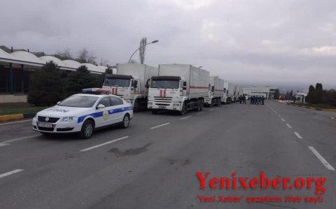 Rusiya Şuşa və Xankəndinə humanitar yardım göndərib-