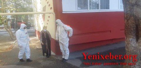 Mingəçevirdə  COVİD-19 xəstəsi evi tərk etdi   -