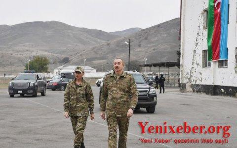 İlham Əliyev və Mehriban Əliyeva Ağdam şəhərinə gedib-