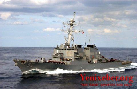 ABŞ-ın raket daşıyan hərbi gəmisi Rusiyanın ərazi sularını pozdu