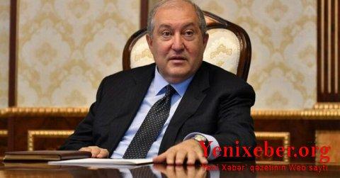 Armen Sarkisyan Rusiyadasəfərdədir-