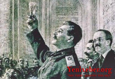 SSRİ-nin böyük hərbi qələbəsinin ziyafəti–