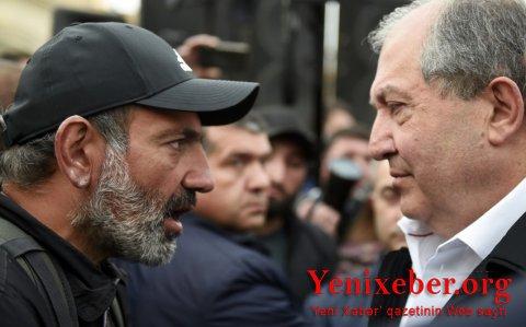 Sarkisyan Paşinyanı istefaya çağırıb
