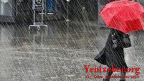 Yağışlı hava -