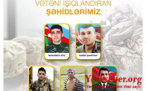 """Vətən müharibəsində şəhid olan """"Azərişıq"""" əməkdaşlarının adları açıqlandı-"""