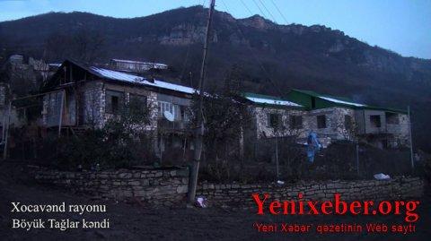 Xocavəndin Böyük Tağlar kəndi -