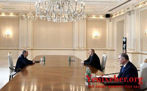 Prezident Rusiya Federal Təhlükəsizlik Xidmətinin direktorunu qəbul edib-