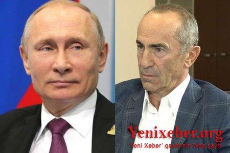 Putinlə Köçəryanın 1 saatlıq telefon danışığı -
