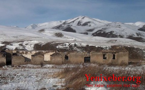 Kəlbəcərin Zivel kəndi -