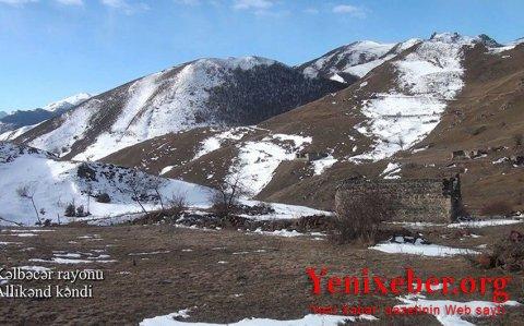 Kəlbəcər rayonunun Allıkənd kəndi-