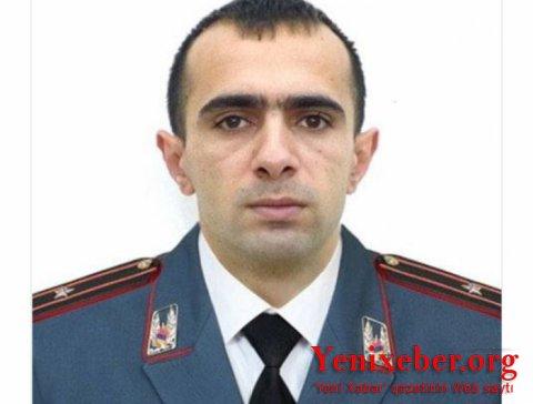 Yüksək rütbəli erməni polis istefa verdi-