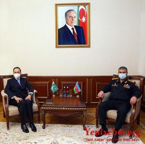 Azərbaycan ilə Pakistan arasında hərbi əməkdaşlıq müzakirə edildi-