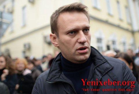 Aleksey Navalnı həbs olundu-