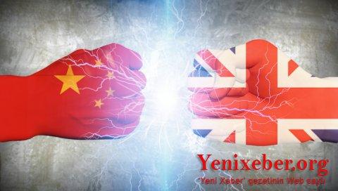 London da Çinə qarşı sanksiyalara qoşuldu-