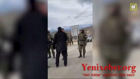 Ermənilər Azərbaycanlı inşaatçıların Tərtərdən Kəlbəcərə getməsinin qarşısını almağa çalışırlar-