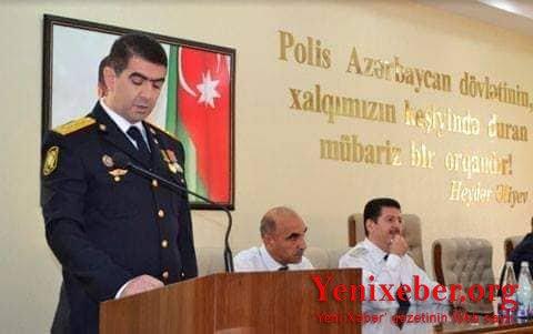 SƏBAİLİN POLİS RƏİSİ CAVİD MURADOVUN TORPAQ QALMAQALI ÜZƏ ÇIXDI-