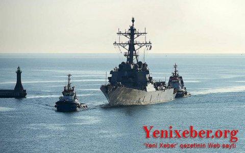 Bu ölkənin hərbi gəmisi Qara dənizə daxil olub-