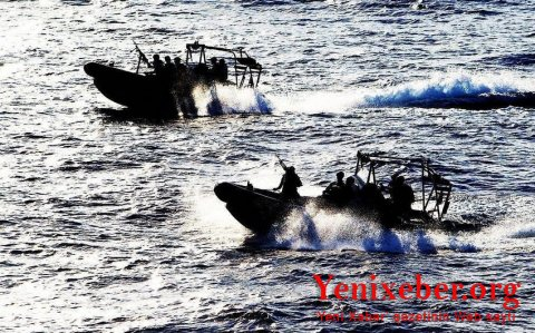 """""""Motsart"""" gəmisi Qabonun limanında lövbər salıb"""
