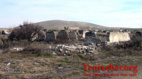 Füzulinin Xələfşə kəndinin görüntüləri -