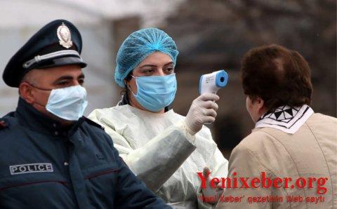Ermənistanda koronavirusa yoluxma sayı 167 mini keçdi