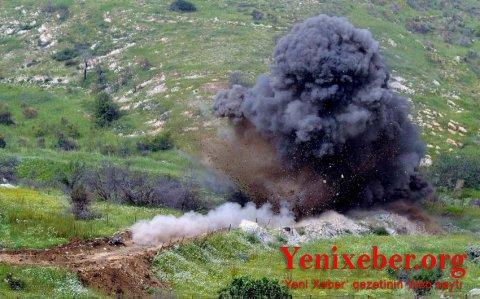 Azərbaycan Ordusunun 4 hərbi qulluqçusu minaya düşüb -
