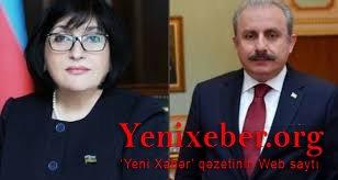 Sahibə Qafarova Türkiyəli həmkarına başsağlığı verdi