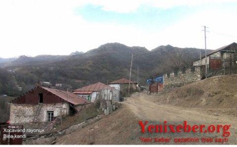 Xocavəndin Binə kəndinin görüntüləri -
