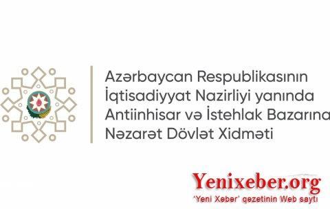 Antiinhisar və İstehsal Bazarlarına Nəzarət Dövlət Xidməti HARA BAXIR... -