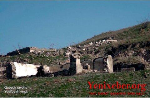 Qubadlının Yusifbəyli kəndinin görüntüləri -