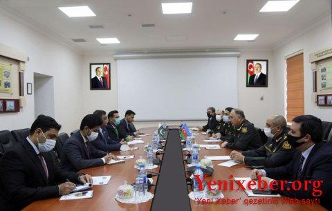 Azərbaycan və Pakistan generalları görüşdü-