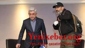 Paşinyan Sarkisyanı ittiham etdi-