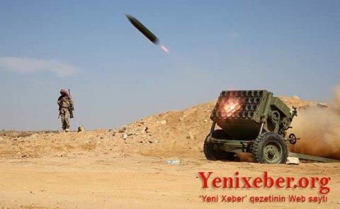 Türkiyəyə iki raket atılıb-