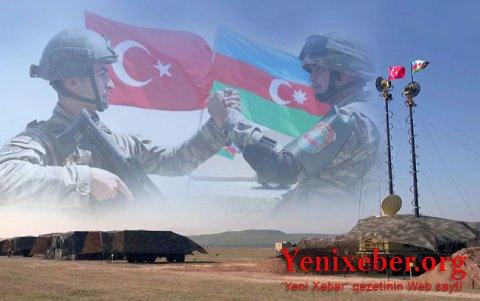 Azərbaycan və Türkiyə ordularının birgə təlimləri başladı -