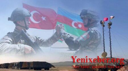 Azərbaycan və Türkiyə ordularının birgə  -