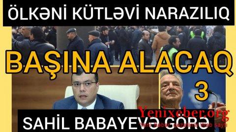 Sahil Babayev qəsdən vətəndaşları dövlətdən narazı salır-