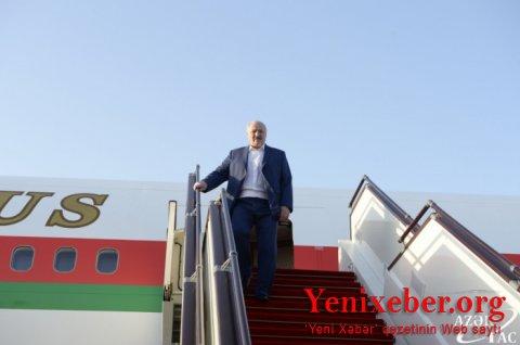 Lukaşenko Bakıdadır-