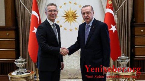 Ərdoğan NATO Baş katibi ilə Ukrayna böhranını müzakirə edib