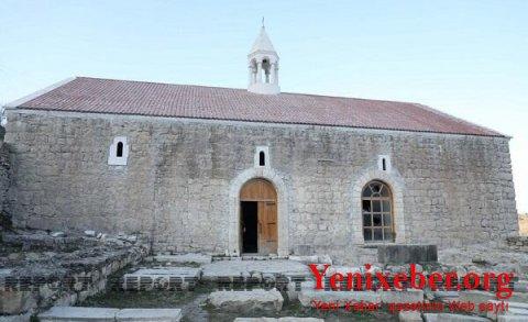 Tuğ kəndindəki alban məbədi əsl sahiblərinə qaytarılır