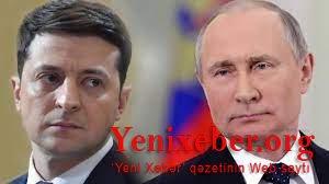 Zelenski Putinlə görüşmək istəyir-
