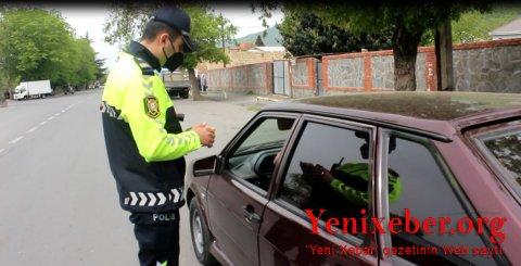 Qaxda yol polisi qaydaları pozan -