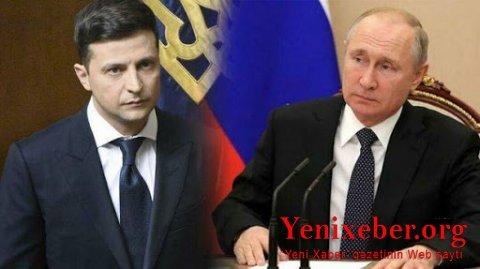 Putin Zelenski ilə Moskvada görüşmək istəyir