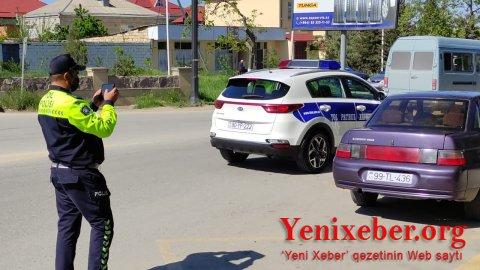 Quba Rayon Polis Şöbəsinin Dövlət Yol Polisi -