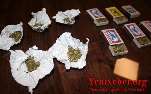 Narkotik tərkibli bitkilər becərən şəxs saxlanıldı-