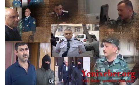 HƏBS EDİLƏN YÜKSƏK RÜTBƏLİ ZABİTLƏR AZADLIĞA BURAXILDI -